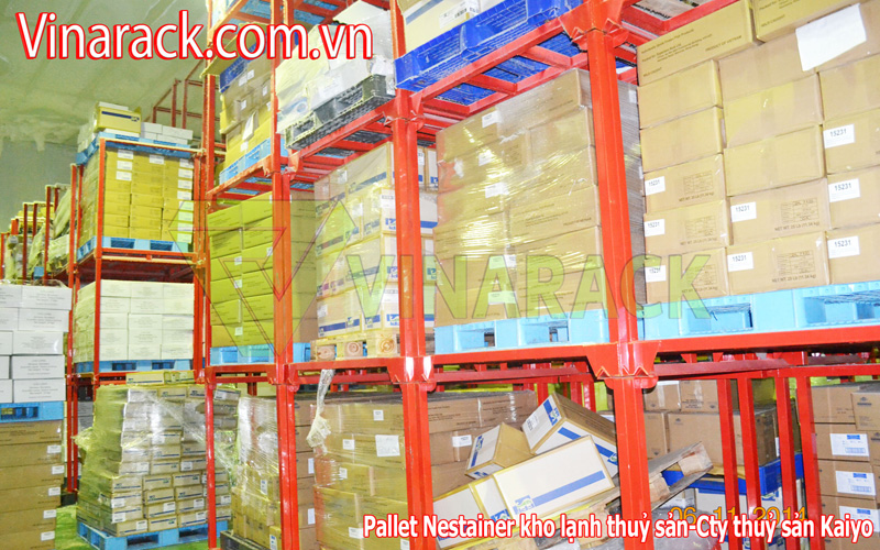 Pallet Nestainer xếp chồng